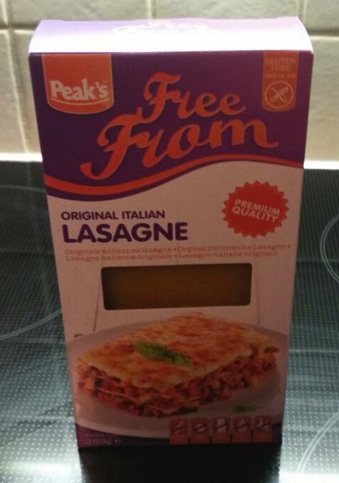 Glutenvrije lasagne bladen